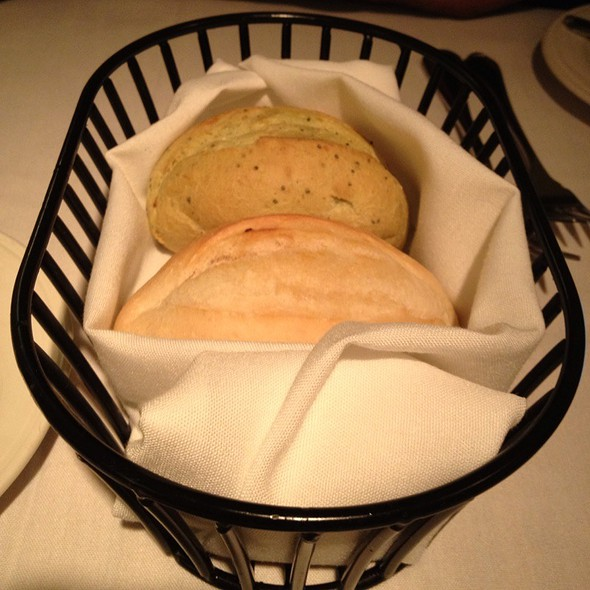 Warm Bread Basket - Bernardin's Restaurant at the Zevely House, Winston-Salem, NC
