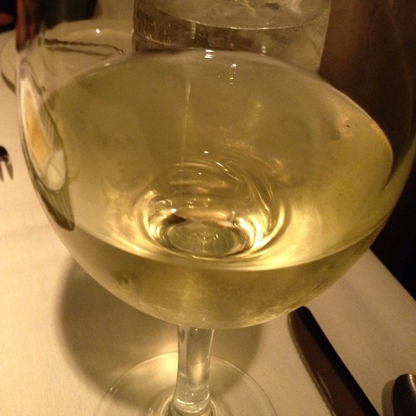 Sonoma Cutrer Chardonnay - Bernardin's Restaurant at the Zevely House, Winston-Salem, NC