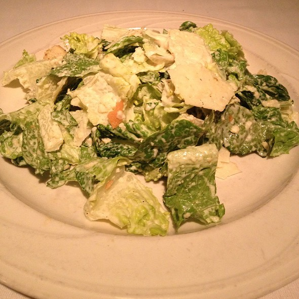 Traditional Caesar Salad - Bernardin's Restaurant at the Zevely House, Winston-Salem, NC