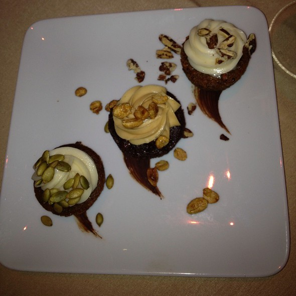 Cupcake Trio - RingSide Fish House - Fox Tower, Portland, OR