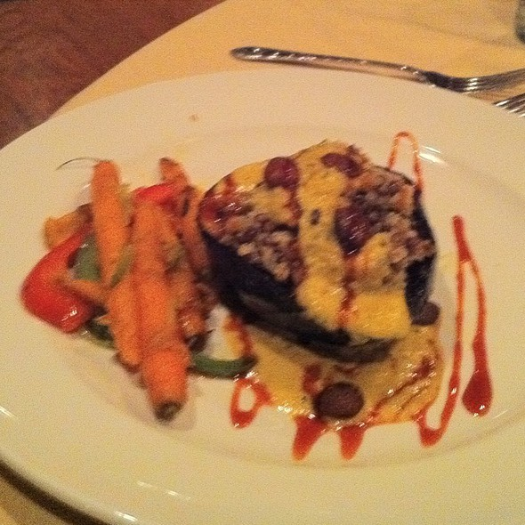 Toasted Barley, Quinoa Stuffed Acorn Squash - The People's Kitchen & Citizen Wine Bar, Worcester, MA