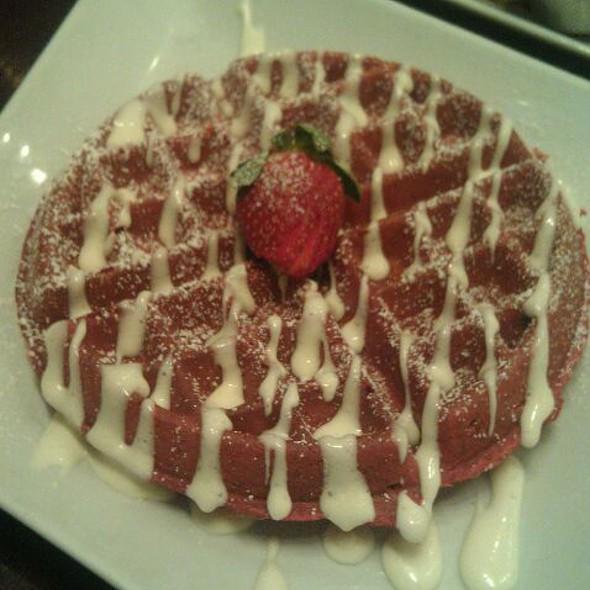 Red Velvet Waffle - Stewart Penick's Terrace - Southpark, NC, Charlotte, NC