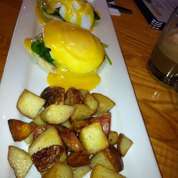 Eggs Benedict - Oasis Cafe - Salt Lake City, Salt Lake City, UT