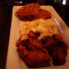 Chicken and Waffles - Toast Birmingham, Birmingham, MI