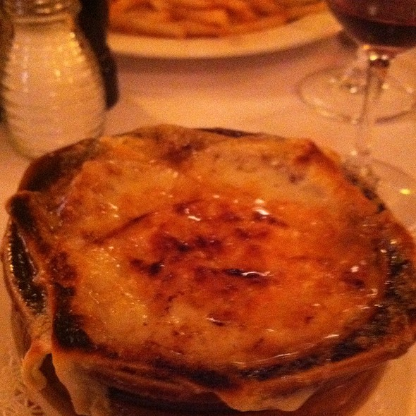 French Onion Soup - Cafe Luxembourg, New York, NY