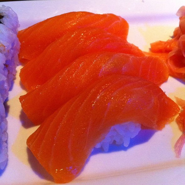 Salmon Nigiri - Sekisui Pacific Rim, Memphis, TN