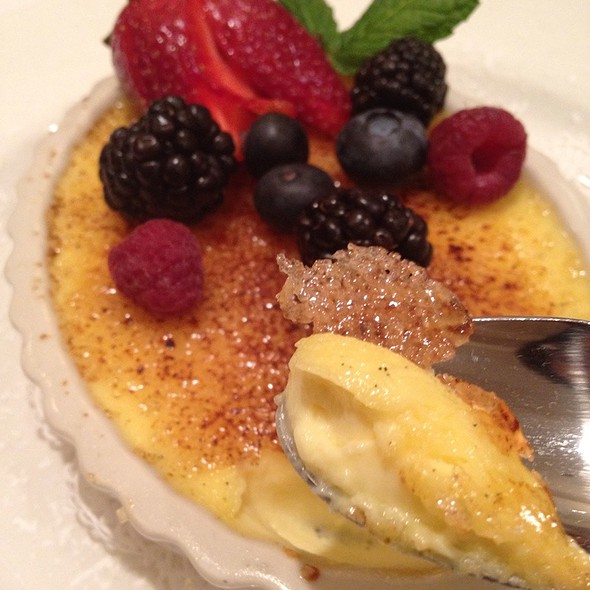Creme Brulee - The Capital Grille - Stamford, Stamford, CT