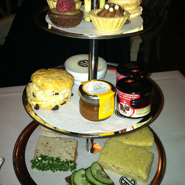 Afternoon Tea/High Tea - BG - Bergdorf Goodman, New York, NY