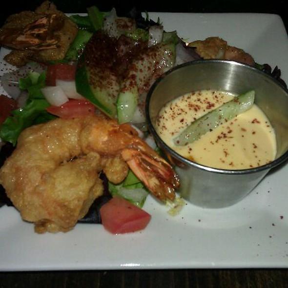 Shrimp Beignets - L'ybane, New York, NY