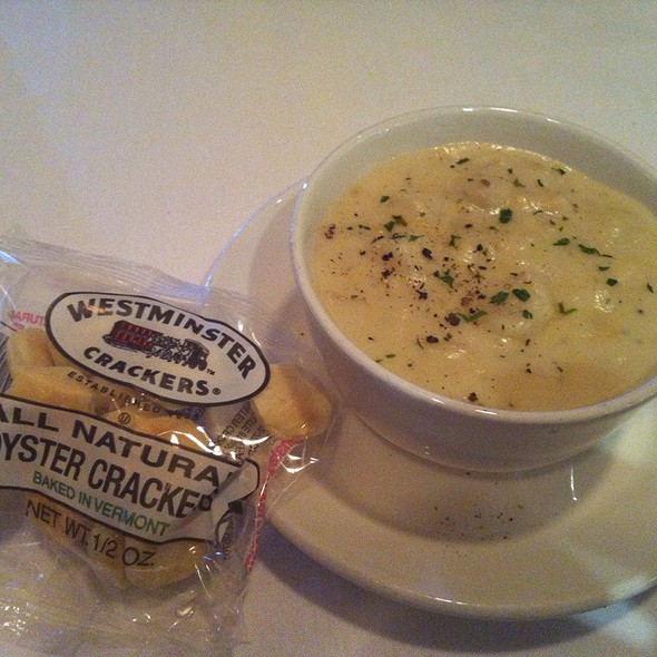 New England Clam Chowder - The Capital Grille - Tampa, Tampa, FL