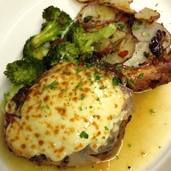 Veal Chop Saltimbocca - Café Napoli, Clayton, MO
