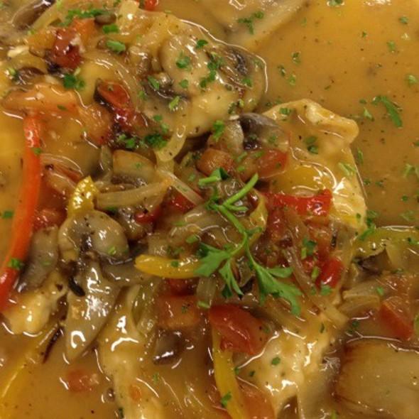 Chicken Marsala - Café Napoli, Clayton, MO
