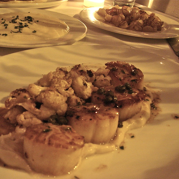 Scallops with Caramelized Cauliflower - Bluehour, Portland, OR