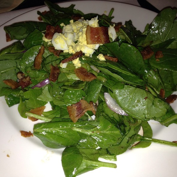 Spinach Salad - The Capital Grille - Chevy Chase, Chevy Chase, MD