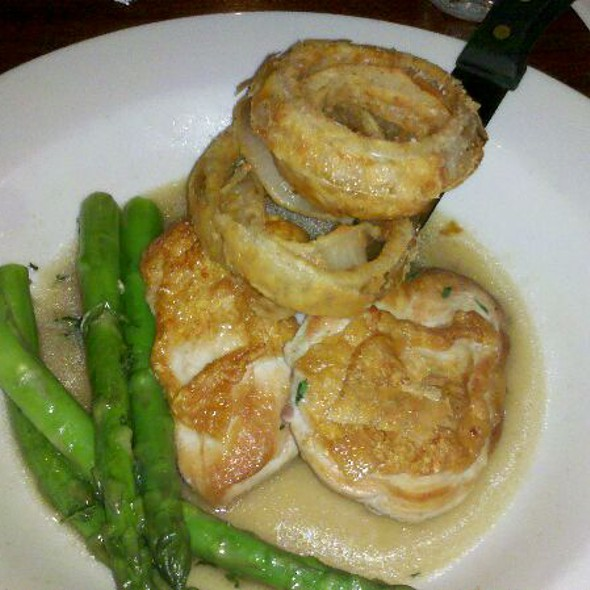 Pan Seared Chicken with Asparagus - Iron Hill Brewery - Newark, Newark, DE