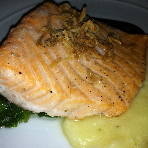 House-Smoked Scottish Salmon - 701 Restaurant, Washington, DC