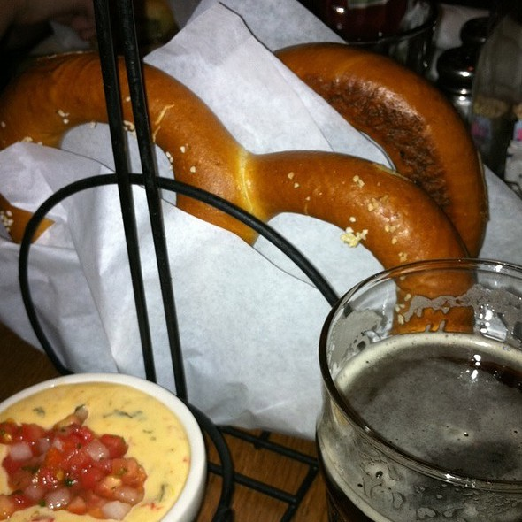 Giant Pretzel - Rock Bottom Brewery Restaurant - Centerra Promenade, Loveland, CO