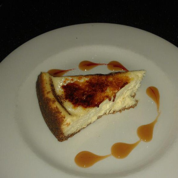 Cheesecake - Vincente's Restaurant, Wilmington, DE