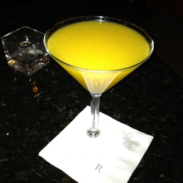 Mango Martini - EDGAR Bar & Kitchen at The Mayflower Hotel, Washington, DC