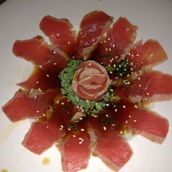 Tuna tataki - Kiko Japanese, Thai Restaurant & Sake Bar, Plantation, FL