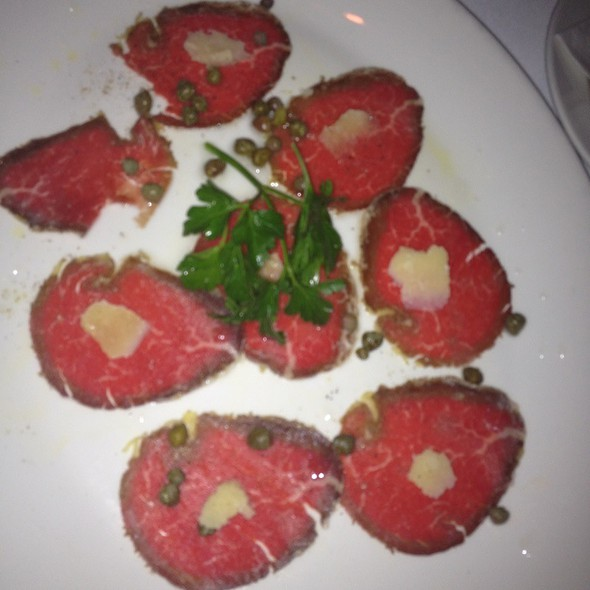 Beef Carpaccio - 801 Chophouse – Kansas City, Kansas City, MO