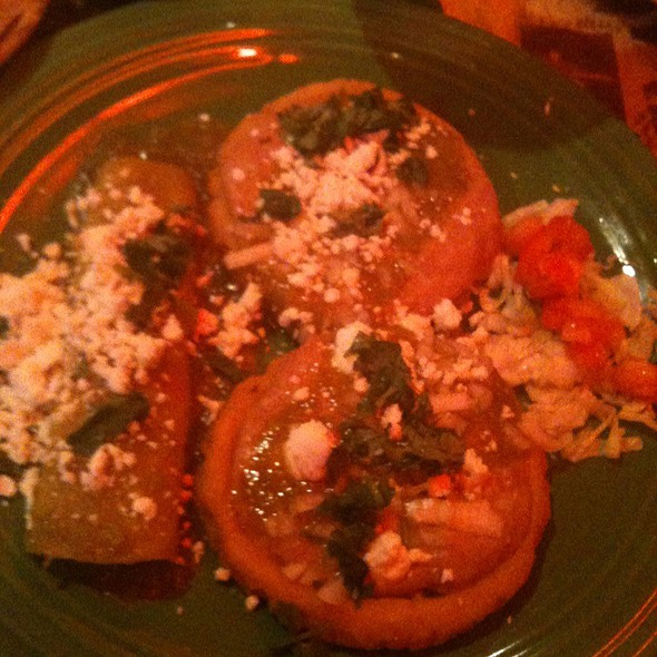 Sopes With Enchilada - Boca Chica Restaurant, Saint Paul, MN