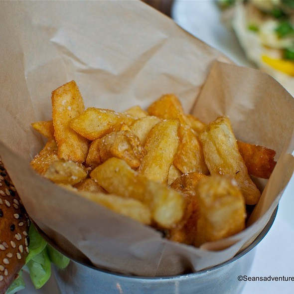 French Fried Kennebec Potatoes - Rogue Kitchen & Wetbar, Vancouver, BC