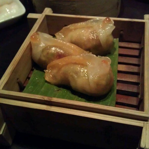 Spicy Prawn Dumplings - Plum Valley, London