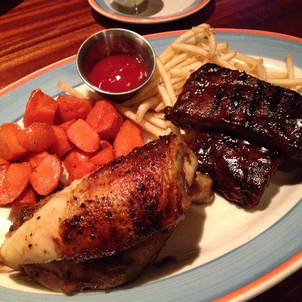 Rotisserie Chicken & Barbecue Ribs - Copper Canyon Grill - Orlando, Orlando, FL