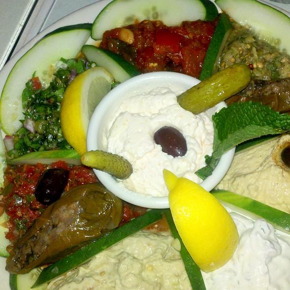 Cold meze plate - Bosphorous Turkish Cuisine - Winter Park, Winter Park, FL