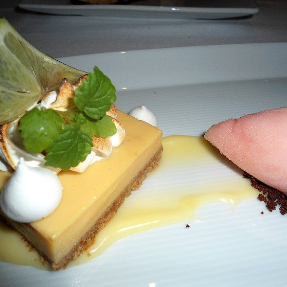 Key Lime Pie - Café Boulud Palm Beach, Palm Beach, FL