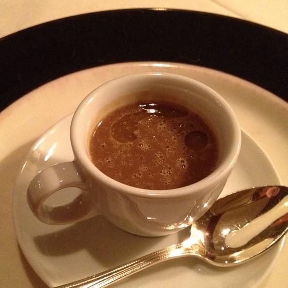 Black Garlic & Lentil Soup Amuse Bouche - Circa 1886, Charleston, SC