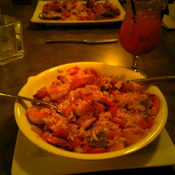 Shrimp Creole - The Old Bay Restaurant, New Brunswick, NJ