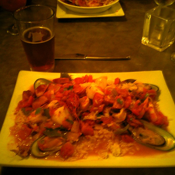 Seafood Jambalaya - The Old Bay Restaurant, New Brunswick, NJ