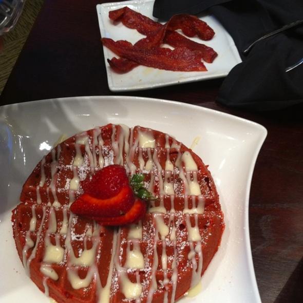 Red Velvet Waffles - Stewart Penick's Terrace - Southpark, NC, Charlotte, NC