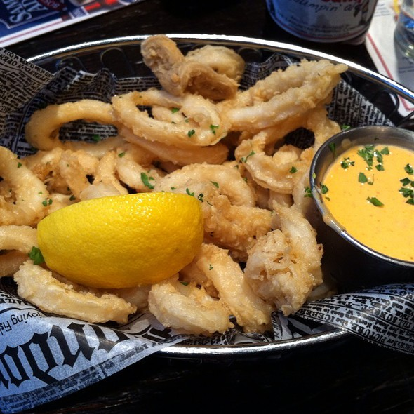 Fried Calamari - Stone Street Tavern, New York, NY