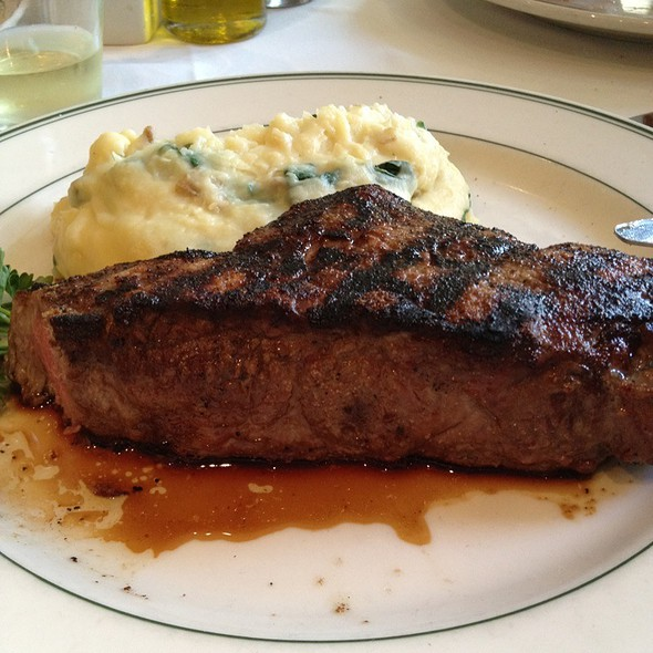 """Fire Roasted """"NY"""" Steak - The Grill on the Alley - Aventura, Aventura, FL"""