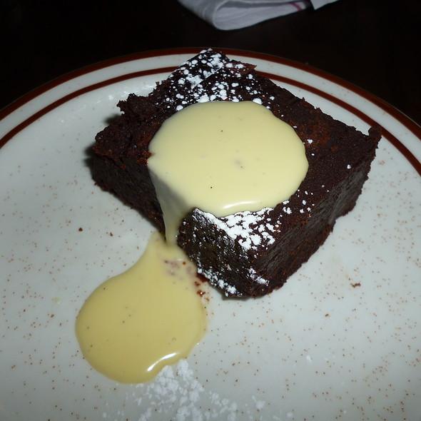 Dark Chocolate Flan - Taverne Gaspar, Montréal, QC