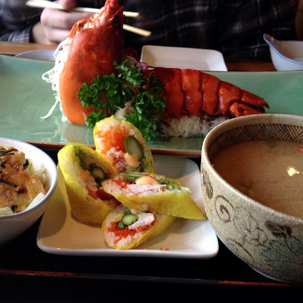 Lobster Set - FuGaKyu Japanese Cuisine, Brookline, MA