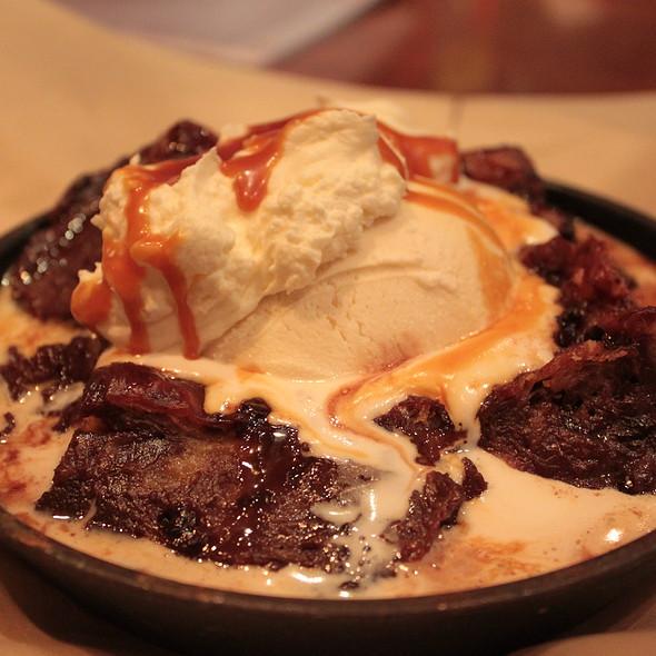Warm Chocolate Bread Pudding - Champions, Boston, MA