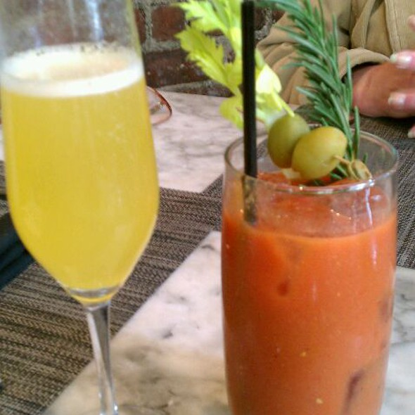 Mimosa & Bloody Mary - Artisan House, Los Angeles, CA