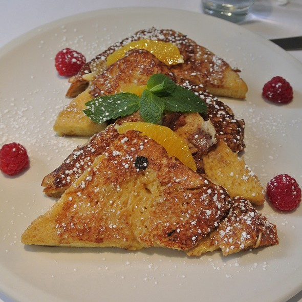Orange Cinnamon Brioche French Toast - Serafina - Philadelphia, Philadelphia