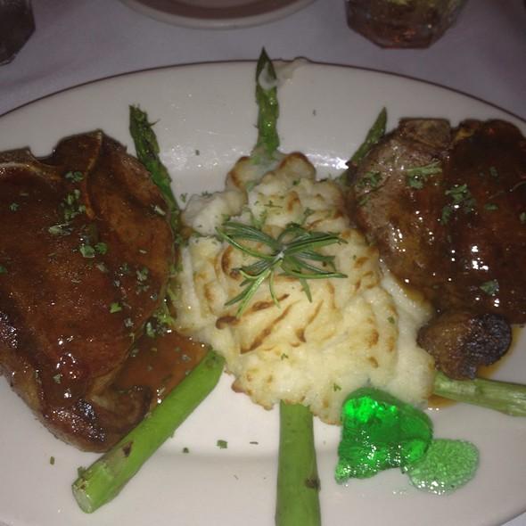 Lamb T-bone - Pascal's Manale, New Orleans, LA