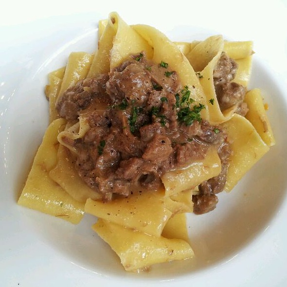 Pappardelle With Wild Boar Ragu - Mucca Osteria, Portland, OR