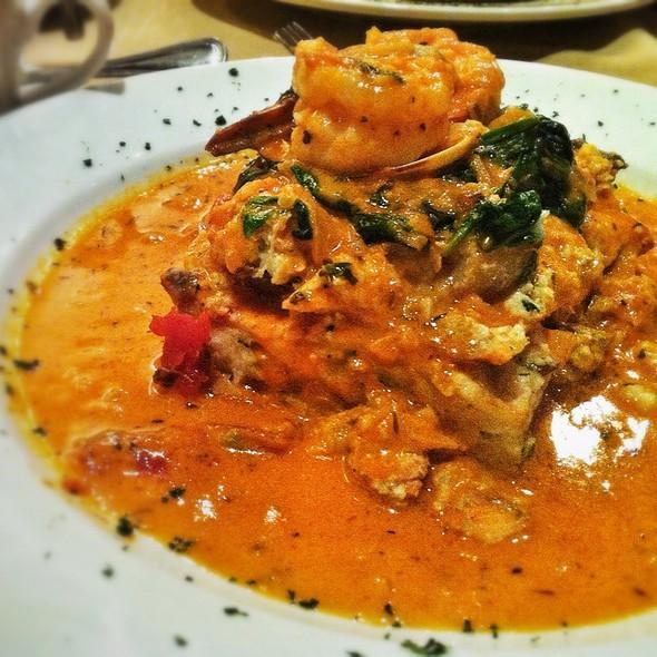 Seafood Lasagna - Mia Bella Trattoria - Main Street, Houston, TX