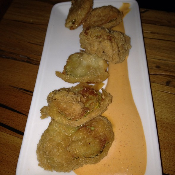 Fried Pickles - Rye House, New York, NY