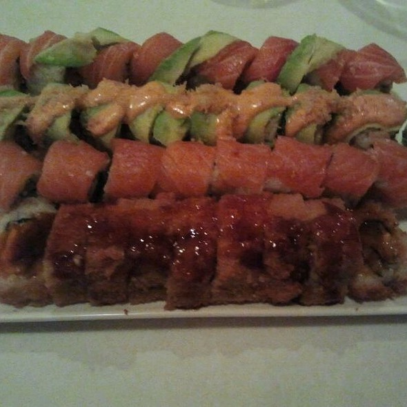 Dragon Roll - Paul's Restaurant, Atlanta, GA
