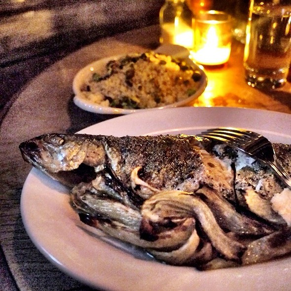 Fine Herbs Grilled Brook Trout - The Smile, New York, NY