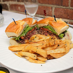 Hamburger Sliders - Park Plaza Gardens, Winter Park, FL