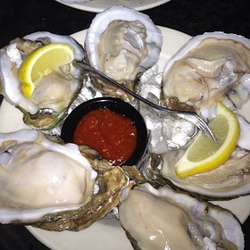 """""""Oysters"""" on the Half Shell - Gulfstream Cafe, Garden City, SC"""